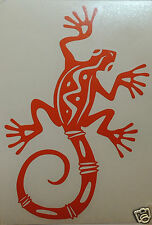 Gecko Lizard logo Sticker/Decal windsurfing/kitesurfing/s urfing use.
