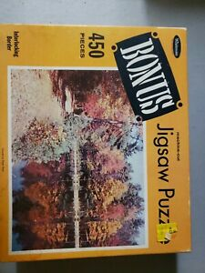 Whitman Bonus Jigsaw Puzzle 450 Pieces  Caledonia State Park