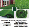 Luxury Realistic Artificial Natural Green Garden Grass Astro Turf Fake Lawn