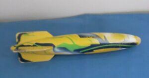 "Original Vintage SwimWays Toypedo Gliding Torpedo Pool Toy 11.5"" Green, Blue"