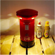 Creative London PostBox Mailbox LED Touch Panel Night Light Coin Box Piggy Bank