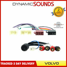 Volvo Car Stereo Amplifier Bypass Wiring Harness Adaptor Lead