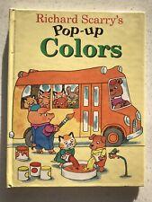 Richard Scarry's Pop-Up Colors - Little Simon 1996