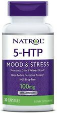 Natrol 5-HTP 100 mg Capsules 30 ea (Pack of 4)