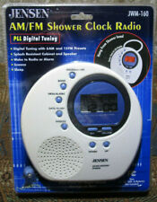 New ListingNew Jensen Jwm-160 Water-Resistant Digital Am/Fm Shower Clock Radio New