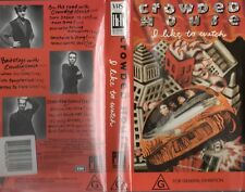 CROWDED HOUSE - I LIKE TO WATCH - VHS - N&S - Never played -Very rare!! - PAL