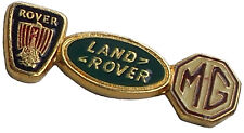 Rover Group house lapel pin - MG Mini and Land Rover original dealer stock
