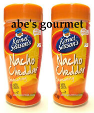 Kernel Season's Nacho Cheddar Popcorn Seasoning (Pack of 2) 2.85 oz Bottles