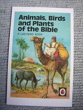 Postcard Vtg Ladybird Matt Book Cover Animals Birds Plant of the Bible Camel Ass