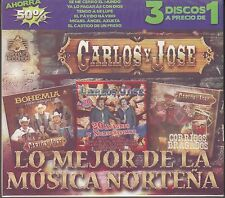 Carlos y Jose Lo Mejor de la Musica Nortena Box set 3CD New Nuevo sealed