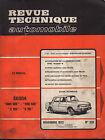 RTA revue technique automobile N° 329 SKODA 1000 MB 1100 MB S100 S 110 100