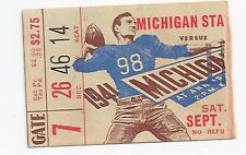 1941 Michigan vs MSU Michigan State original college football ticket stub