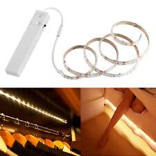 1m LED Stripe PIR Bewegungsmelder Lichtband Streifen Batteriebetrieb Band