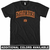 Embarcadero San Francisco T-shirt - SF Giants 49ers Cali USA - Men / Kids XS-4XL