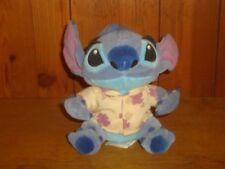 "Cute 6"" Disney Stitch Beach Party Hawaiian Shirt Stuffed Bean Bag Lilo Plush"