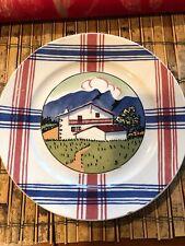 Vintage antique Ramuntcho plate Sarreguemines Depose France Maison A Osses
