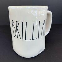 Rae Dunn BRILLIANT Ceramic Coffee Mug Stein By Magenta Artisan Collection