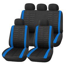 Coprisedili Universali Auto Blu Neri | Alfa Audi Bmw Ford Kia Vw Opel Fiat ecc.