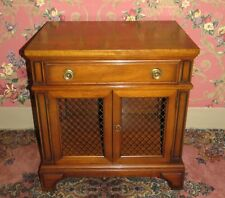 Continental Furniture Solid Mahogany Cabinet Night Table High Point NC