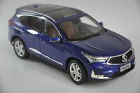 Acura RDX 2019 car model in scale 1:18 Blue