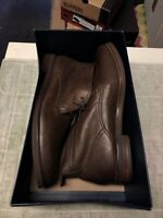 Cole Haan Charles Chukka.II Ankle Boots Dark Brown Leather Size 13