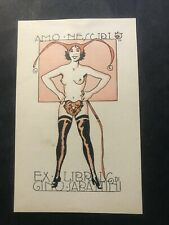 Burzi. ex libris di Sergio Burzi 1901-1954 per Gino Sabattini