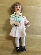 "Vinyl Julie Good-Kruger ""Good Friends"", Cute Doll Holding Rag doll-no Box"