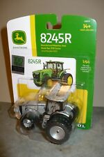 SILVER 8245R John-Deere Toy Tractor 100 Years of JD Tractors 1/64 Ertl