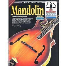 More details for mandolin - progressive mandolin for beginners book with download - h8