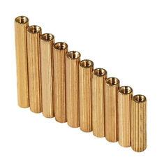 M2 Female Brass Threaded Column Standoff Support Pillars Brass Standoff Spacer