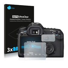 6x Protector Pantalla Canon EOS 40D Pelicula Protectora Transparente