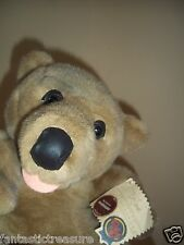 "RARE VINTAGE DON JAMES PLUSH DOLL FIGURE  ""BARNABY BEAR""  PETTAGREE COLLECTIBLES"