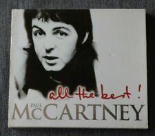 Paul McCartney, all the best, CD + fourreau carton