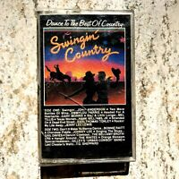 Dance To The Best Of Country Swingin Country Cassette Tape John Anderson Emmylou