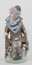 "LLADRO ""SURPRISE"" #5901 FIGURINE  ~ CLOWN WITH DOG/ PUPPIES ~ MINT W/BOX ~"