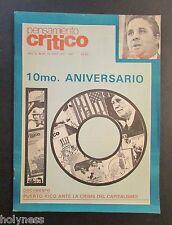 VINTAGE MAGAZINE / PENSAMIENTO CRITICO / PUERTO RICO / SEP / DEC 1987 / #56