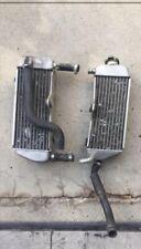 2000-2001 YAMAHA YZ 125 RIGHT LEFT RADIATOR 00-01 RADIATORS COOLING SET YZ125