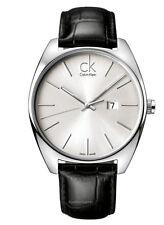 ck Calvin Klein Exchange K2F21120 Herrenuhr Leder schwarz neu