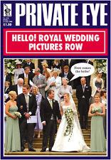 PRIVATE EYE 1211 - 30 May - 12 Jun 2008 - The Windsors - HELLO! ROYAL WEDDING