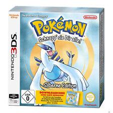Pokemon Silber Edition (Code in a Box) - Pokémon - Nintendo 3DS 2DS