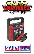Sealey STC40 Battery Charger 6/12V 4Amp 230V Automatic Car / Bike / Van