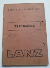 Lanz Bulldog Ersatztelliste 25PS (1948)