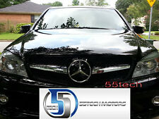 Front Grille grill 08~14 w204 C230 C300 C350 1 FIN BK  Mercedes Benz