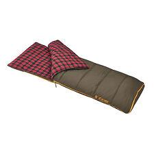 Slumberjack Big Timber Pro 20 Degree Flannel-Lined Wide & Long Sleeping Bag