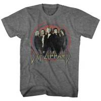 DEF LEPPARD - Circle Band - T SHIRT S-M-L-XL-2XL Brand New - Official T Shirt