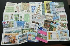 NEW ZEALAND - FINE COLLECTION OF 56 x DIFFERENT MINI SHEETS - ALL SUPERB MNH