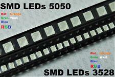SMD LED 3528 5050 PLCC 2 6 RGB LEDs Verschiedene Farben Leuchtdioden KFZ Tacho