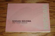 Original 1990 Nissan Maxima Owners Operators Manual 90