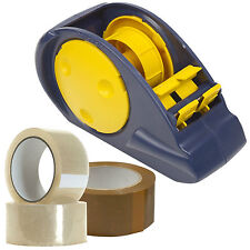 Large Wide Heavy Duty Desk Table Big Tape Dispenser 60mm Parcel Taping Packing