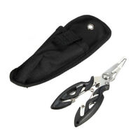 Portable Fishing Pliers Scissors Line Cutter Hook Tackle Accessories Tool U S